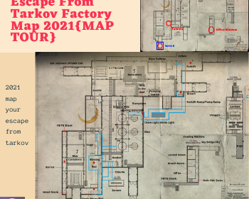 Escape From Tarkov Factory Map 2021{MAP TOUR}