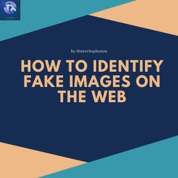 How to identify fake images on the web