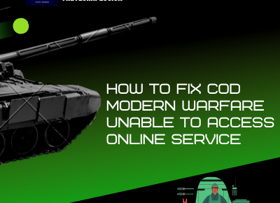 How To Fix COD Modern Warfare Unable To Access Online Service