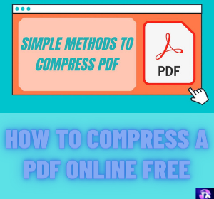 How to Compress a PDF Online Free